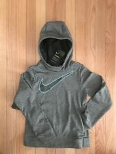 Nwt Nike Girl's Swoosh Therma Dri-Fit Pull-Over Hoodie Sweatshirt $40 J14