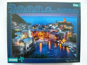 Buffalo Games Cinque Terre Italy 2000 Piece Jigsaw Puzzle Brand New Sealed