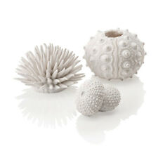 biOrb Aquarium Ornament White Sea Urchins (x3)