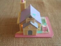 Bluebird 1993 Vintage Polly Pocket Pollyville Schoolhouse ONLY