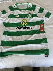 celtic home shirt medium