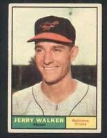 1961 Topps #85 Jerry Walker VG/VGEX Orioles 47877