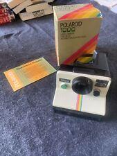VINTAGE RETRO POLAROID 1000 RAINBOW CAMERA ORIGINAL BOX LAND SX-70