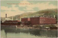 Pittsburgh Terminal Warehouses in Pittsburgh PA Postcard
