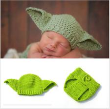Boys & Girls Newborn Baby Infant Yoda Star War Hat Photo Photography Props Knit