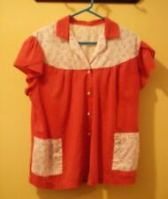 """Vintage - 1940's Woman's """"Duster""""."""