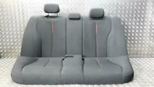 BMW 3 Series F30 Seat Assembly Rear Grey/Red Cloth 2012 To 2015 +Warranty