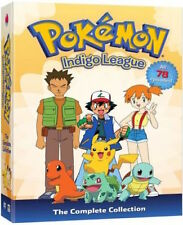 Pokemon Complete Series Original TV Show Indigo League DVD Boxset Season 1 Anime