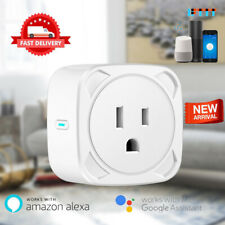 WiFi Smart Socket Outlet Plug Switch Timer Remote Control For Alexa Google Home