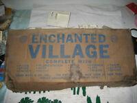 Vintage MARX Enchanted Village Playset Boxed vintage rare