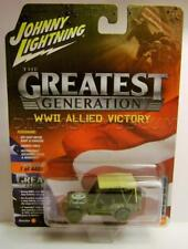 WWII WILLYS JEEP THE GREATEST GENERATION VERSION B JOHNNY LIGHTNING DIECAST 2018