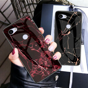 For Google Pixel 4 XL 4 3a XL 3a Glass HARD BACK HARD Silicon BACK Case Cover