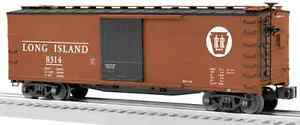 discontinued 2014 Lionel Long Island Double Sheathed Boxcar new new in the box