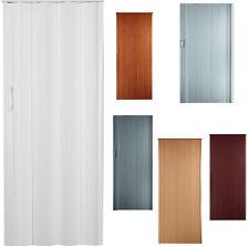Falttür Schiebetür in 8 Farben H.202 cm Breite. 85 bis 109 cm mit Doppelwand st3