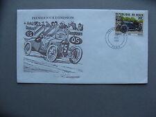 NIGER, cover FDC 1981, car-racing Peugeot 1912