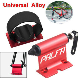 1 X Red Alloy Bicycle Car Carrier Fork Lock Quick-Release Roof Mount Rack Holder