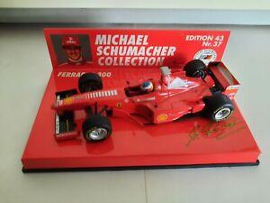 Minichamps MSC #37 Ferrari F300 Michael Schumacher 1998 1/43 510984303