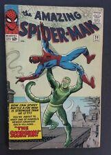 AMAZING SPIDER-MAN #20 • SUPER-FLAT VG/FN OR BETTER • 1ST SCORPION