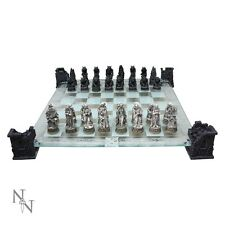 NEMESIS NOW VAMPIRE AND WEREWOLF CHESS SET