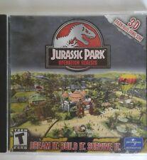 Jurassic Park PC CD ROM Game
