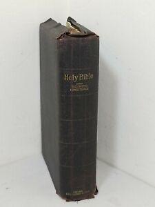 HOLY BIBLE OXFORD CYCLOPEDIC CONCORDANCE SELF-PRONOUNCING S.S.TEACHER'S EDITION