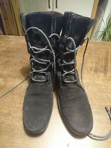 TODS Black Suede Boots UK 5 EUR 38.5