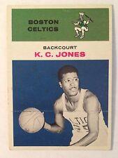 1961 Fleer K.C. Jones Rookie #22 HOF Boston Celtics Ex Condition