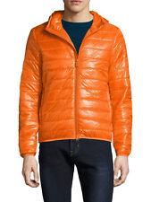 ASPESI Scaldami Giubotto Uomo Orange Light Jacket $480 Retail Size L NEW