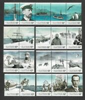 Australian Antarctic Territory Expedition complete issue (2011-14) mnh-4 sets