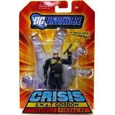 "SWAT GORDON BATMAN #45 Action Personaggio 3 3/4"" DC Universe Crisis Series 1 MATTEL"