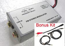 FM Stereo Modulator MP3 / DVD / 3.5/ RCA Car Antenna Adapter Audio Sound