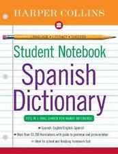 HarperCollins Student Notebook Spanish Dictionary Collins Language Spanish Ed