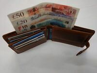 Quality Hunter Leather Wallet Top Brand RFID Protected in Gift Box