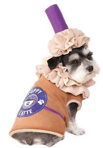 Iced Coffee Puppy Latte Mocha Fancy Dress Up Halloween Pet Dog Cat Costume