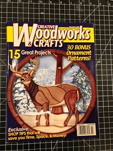 Creative Woodworks & Crafts Magazine, Nov 2004, complete with plans