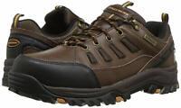 Skechers Mens Relment-semego Low Top Lace Up Walking Shoes, Dkbr, Size 15.0 JffI