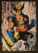 1993 Marvel WOLVERINE LOGAN 2 mini-posters in 1 - 27 x 40 cm Spanish vintage 027