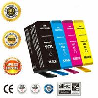 4 Pack 902XL 902 L Ink Cartridges for HP Officejet Pro 6960 6968 6970 6975 6978