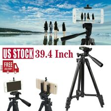 """39.4"""" Camera Cell Phone Tripod Stand Holder Mount for Universal iPhone Samsung"""