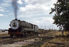 South Australian Railways Steam..508 and G.M.H. Block Car Freighter Train