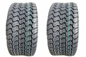 2 New Tires 23 9.50 12 OTR GrassMaster Turf 4ply 23x9.50x12 23x9.50-12 SIL
