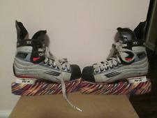 Bauer Vapor Xv Jr Ice Hockey Skates Sz 4D Tuuk Lightspeed Blades Covers-Only One
