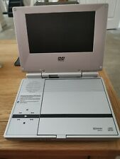 """Tested PORTABLE DVD PLAYER WITH 7"""" LCD SCREEN PVS3377 PLAYS DVDS CDS WORKING"""