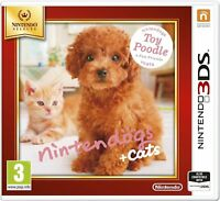 Nintendogs + Cats - Toy Poodle + New Friends For UK / EU 3DS (New & Sealed)