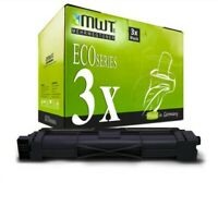 3x MWT Eco Cartucho Negro Compatible para Brother MFC-L3710 3730 3740 3750CDW