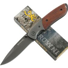 Browning Cocobolo Handles Linerlock Pocket Knife BR0096