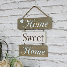 home sweet home decorative wall hanging plaque print home accessory natural