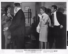 """Carol Burnett, Dean Martin """"Who's Been Sleeping in My Bed?"""" vintage movie still"""