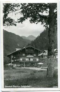 Foto-AK SEEGATTERL /REIT IM WINKL Gasthof-Pension 1934
