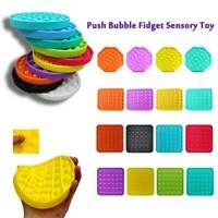 Educational Toys Push Bubble Stress Relief Sensory Fidget Increase Focus